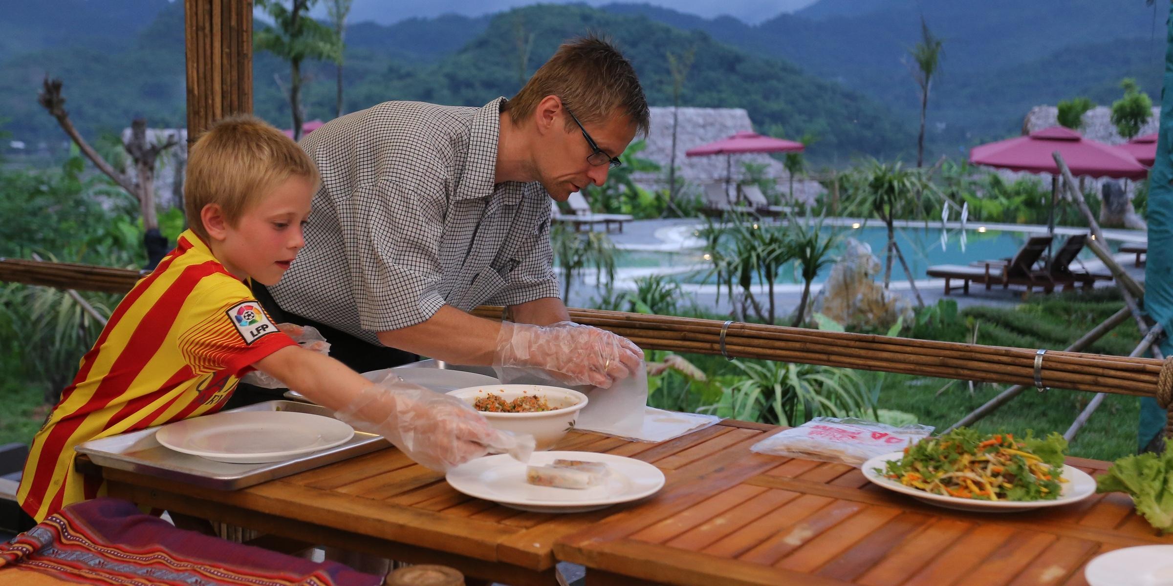 Mai Chau Ecolodge Cooking class