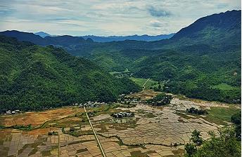 Lac Village in Mai Chau Valley