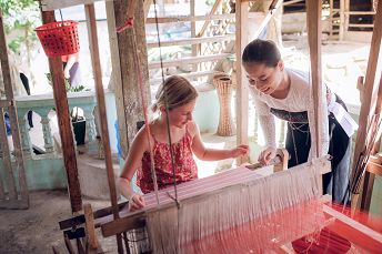 Try Our New Eco Tour Package – Brocade Weaving & Cooking Class in Local Home