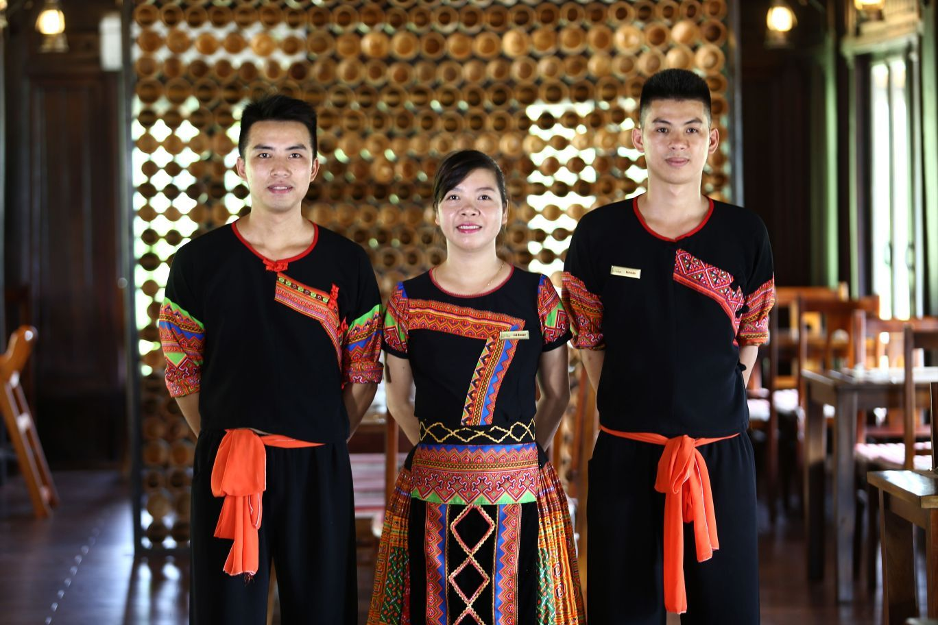 Mai Chau Ecolodge staff 02