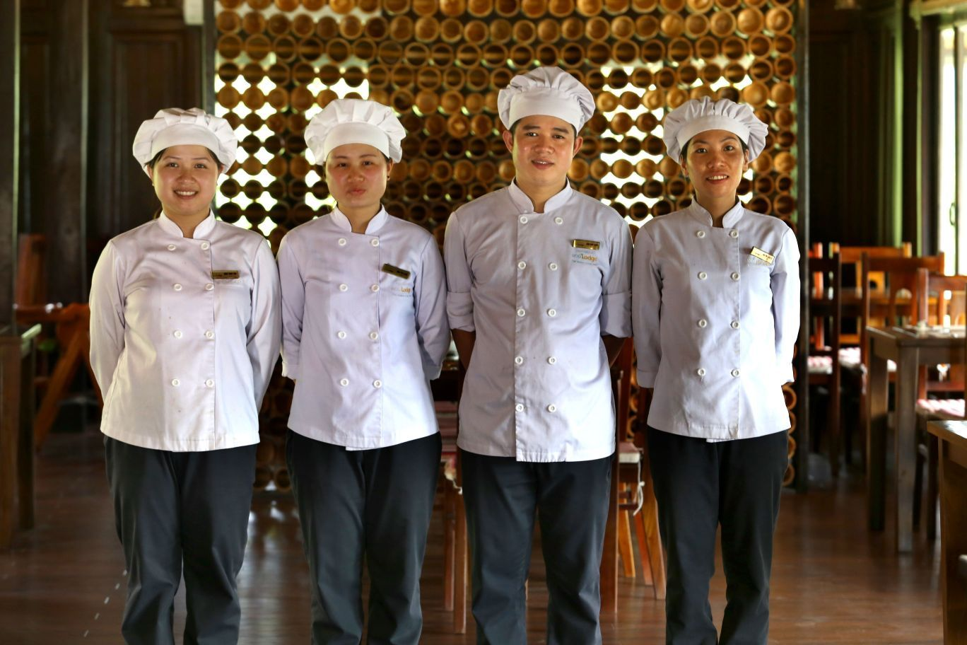 Mai Chau Ecolodge staff 01