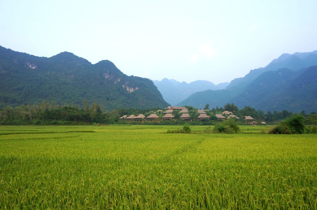 Mai Chau Ecolodge overview 03