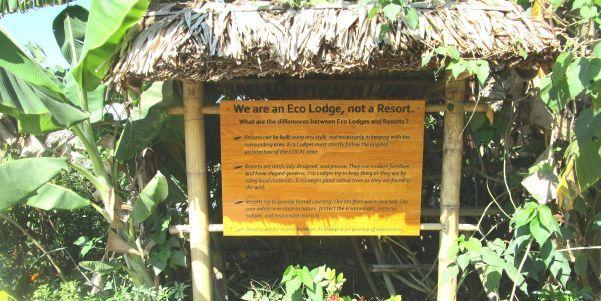 Mai chau ecolodge board