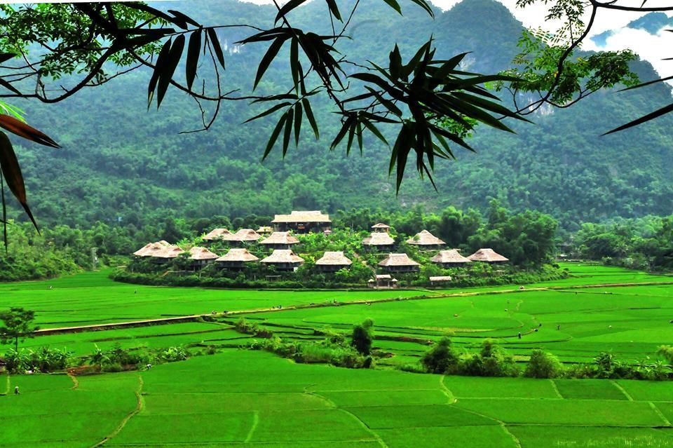 Mai Chau Ecolodge overview