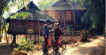 MAI CHAU HALF DAY BIKING TOUR