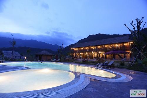 Mai Chau Ecolodge Pool