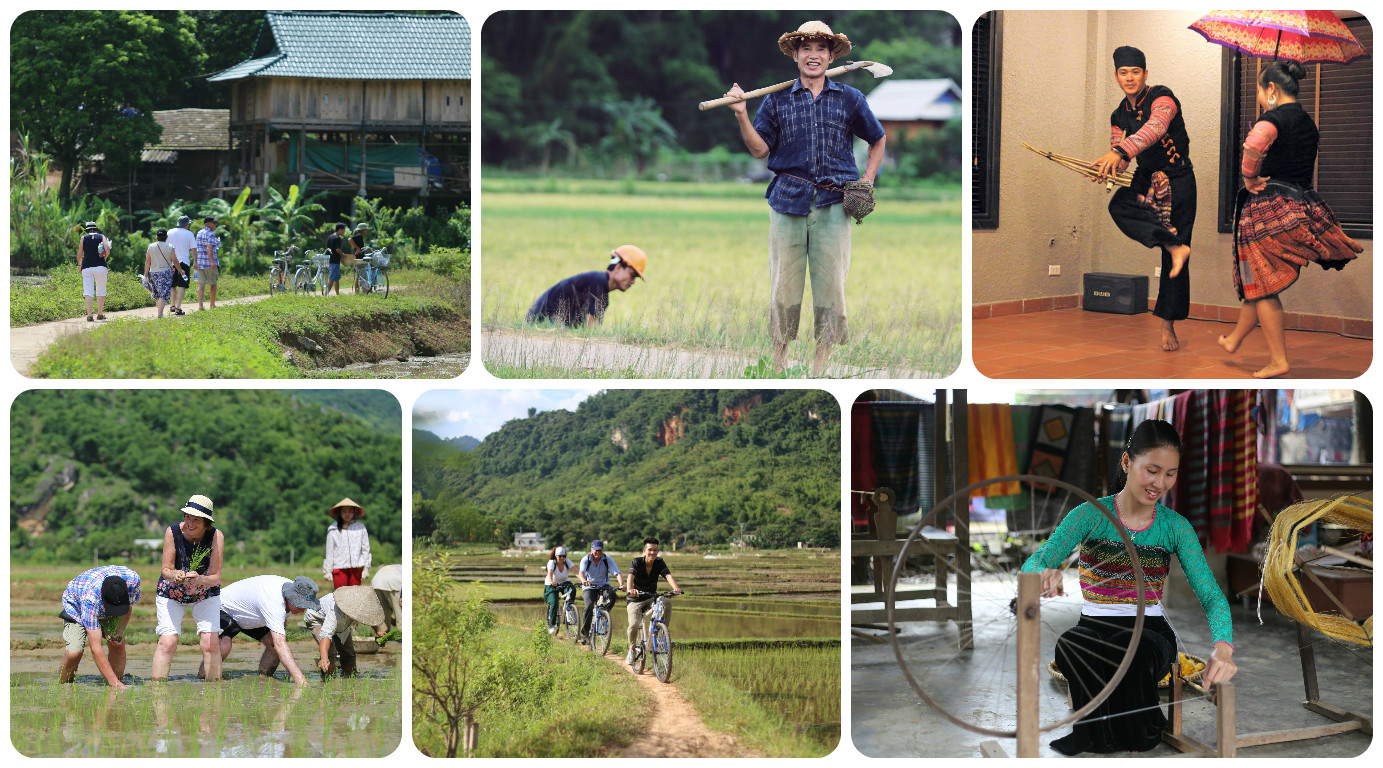 Mai Chau Ecolodge - Classic 2 Days Tour